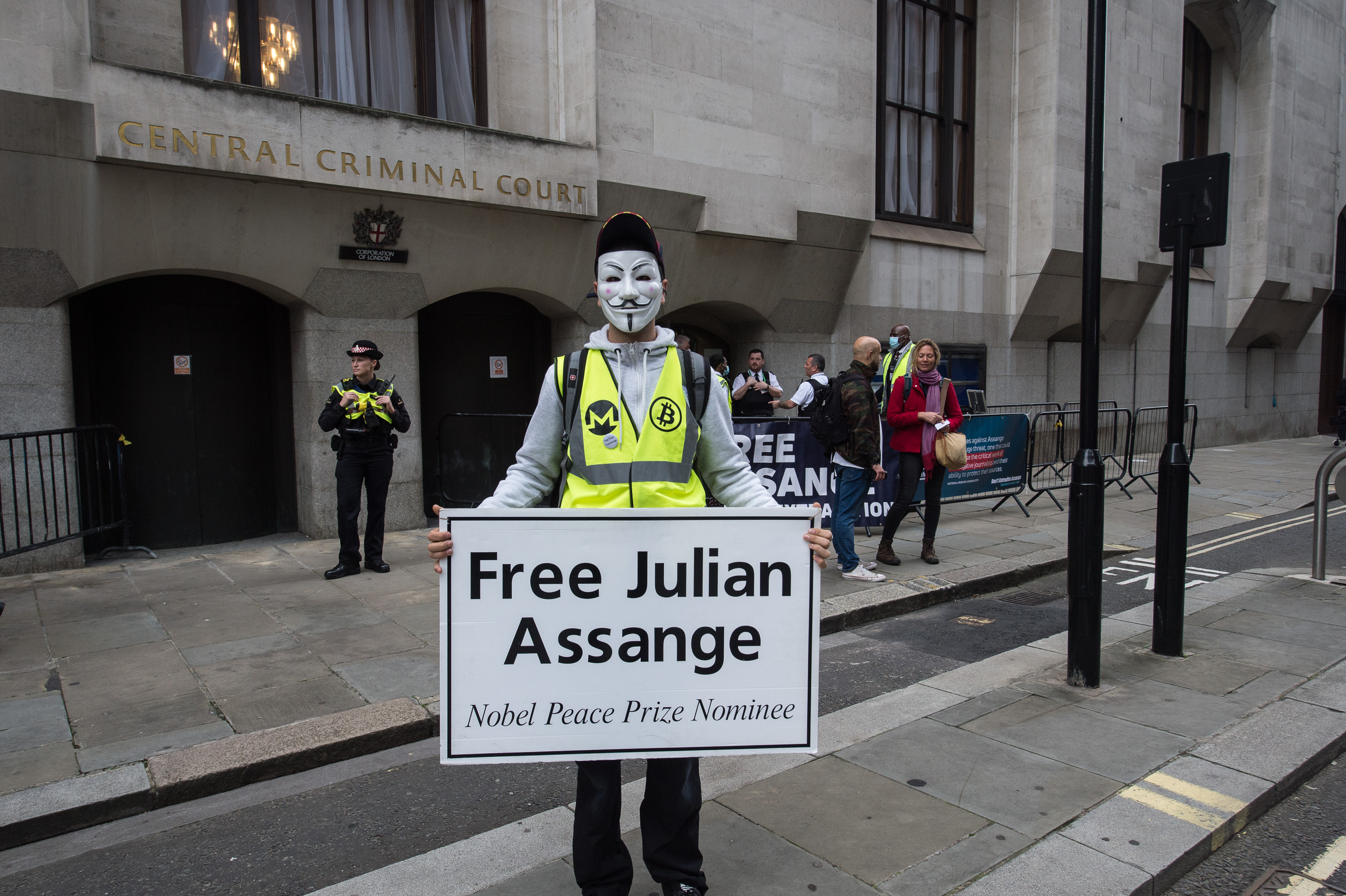 Assange Extradition Hearing Photos: September 07, 2020