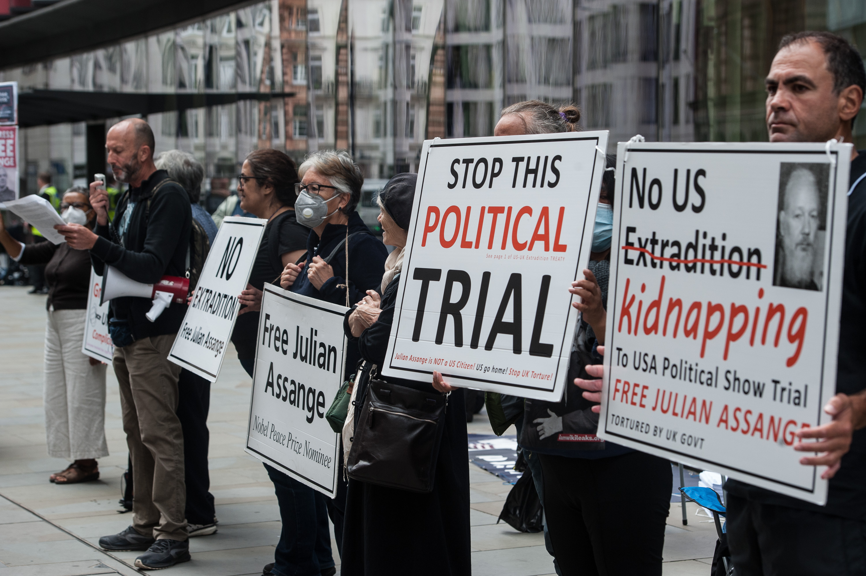 Assange Court Report September 15: Afternoon